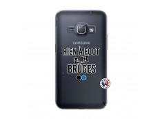 Coque Samsung Galaxy J1 2016 Rien A Foot Allez Bruges