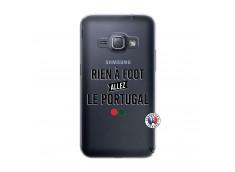 Coque Samsung Galaxy J1 2016 Rien A Foot Allez Le Portugal