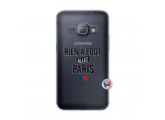 Coque Samsung Galaxy J1 2016 Rien A Foot Allez Paris