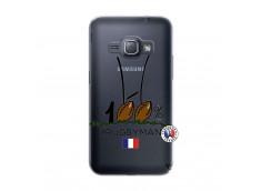 Coque Samsung Galaxy J1 2016 100 % Rugbyman Entre les Poteaux