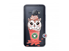 Coque Samsung Galaxy J1 2016 Catpucino Ice Cream