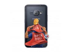 Coque Samsung Galaxy J1 2016 Super Papa et Super Bébé