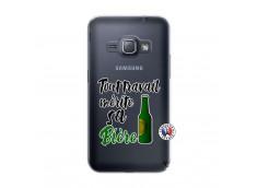 Coque Samsung Galaxy J1 2016 Tout Travail Merite Sa Biere