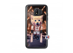 Coque Samsung Galaxy J2 2018 Cat Nasa Translu