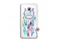 Coque Samsung Galaxy J3 2016 Blue Painted Dreamcatcher