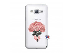 Coque Samsung Galaxy J3 2016 Bouquet de Roses