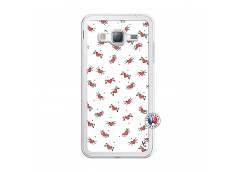 Coque Samsung Galaxy J3 2016 Cartoon Heart Translu