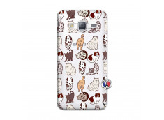 Coque Samsung Galaxy J3 2016 Cat Pattern