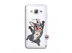 Coque Samsung Galaxy J3 2016 Dog Impact