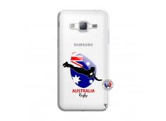 Coque Samsung Galaxy J3 2016 Coupe du Monde Rugby-Australia