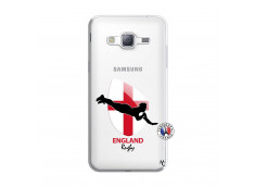 Coque Samsung Galaxy J3 2016 Coupe du Monde Rugby-England