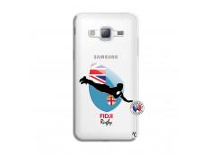 Coque Samsung Galaxy J3 2016 Coupe du Monde Rugby Fidji