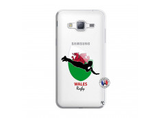 Coque Samsung Galaxy J3 2016 Coupe du Monde Rugby-Walles