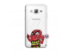 Coque Samsung Galaxy J3 2016 Dead Gilet Jaune Impact