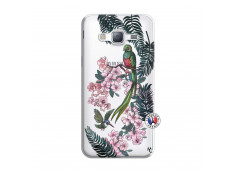Coque Samsung Galaxy J3 2016 Flower Birds