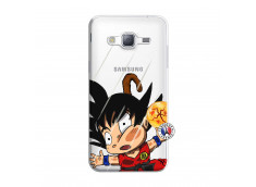 Coque Samsung Galaxy J3 2016 Goku Impact