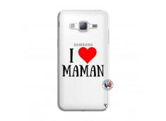 Coque Samsung Galaxy J3 2016 I Love Maman
