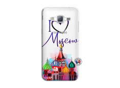 Coque Samsung Galaxy J3 2016 I Love Moscow