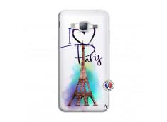 Coque Samsung Galaxy J3 2016 I Love Paris