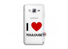 Coque Samsung Galaxy J3 2016 I Love Toulouse