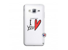 Coque Samsung Galaxy J3 2016 I Love You
