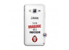 Coque Samsung Galaxy J3 2016 J Peux Pas J Ai Un Braquage Avec Le Professeur