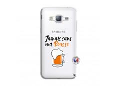 Coque Samsung Galaxy J3 2016 Jamais Sans Ma Rousse