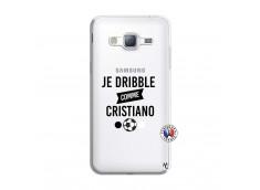 Coque Samsung Galaxy J3 2016 Je Dribble Comme Cristiano