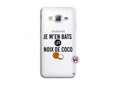 Coque Samsung Galaxy J3 2016 Je m'en bats Les Noix De Coco