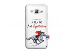 Coque Samsung Galaxy J3 2016 Je Peux Pas J Ai Equitation