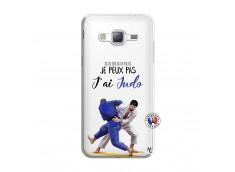 Coque Samsung Galaxy J3 2016 Je peux pas j'ai Judo