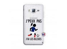 Coque Samsung Galaxy J3 2016 Je Peux Pas J Ai Les Bleues Maillot