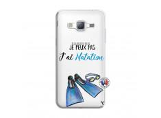 Coque Samsung Galaxy J3 2016 Je Peux Pas J Ai Natation