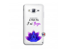 Coque Samsung Galaxy J3 2016 Je Peux Pas J Ai Yoga