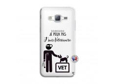 Coque Samsung Galaxy J3 2016 Je Peux Pas Je Suis Veterinaire