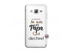 Coque Samsung Galaxy J3 2016 Je Suis Un Papa Qui Dechire
