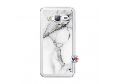 Coque Samsung Galaxy J3 2016 White Marble Translu