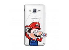 Coque Samsung Galaxy J3 2016 Mario Impact