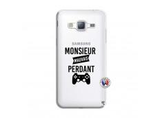 Coque Samsung Galaxy J3 2016 Monsieur Mauvais Perdant