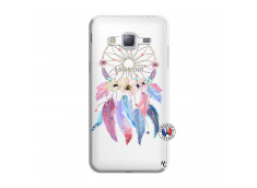 Coque Samsung Galaxy J3 2016 Multicolor Watercolor Floral Dreamcatcher