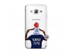 Coque Samsung Galaxy J3 2016 Papa Super Heros