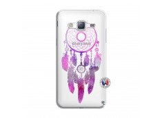 Coque Samsung Galaxy J3 2016 Purple Dreamcatcher
