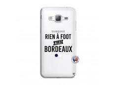 Coque Samsung Galaxy J3 2016 Rien A Foot Allez Bordeaux