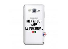 Coque Samsung Galaxy J3 2016 Rien A Foot Allez Le Portugal