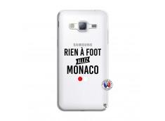 Coque Samsung Galaxy J3 2016 Rien A Foot Allez Monaco
