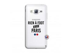 Coque Samsung Galaxy J3 2016 Rien A Foot Allez Paris