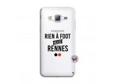 Coque Samsung Galaxy J3 2016 Rien A Foot Allez Rennes
