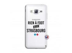 Coque Samsung Galaxy J3 2016 Rien A Foot Allez Strasbourg