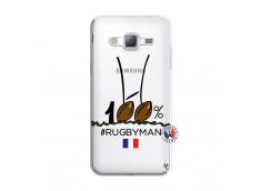 Coque Samsung Galaxy J3 2016 100 % Rugbyman Entre les Poteaux