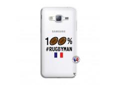 Coque Samsung Galaxy J3 2016 100% Rugbyman